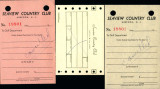 Seaview Country Club: Receipt forms