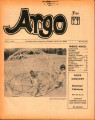 Argo: Volume 3, Number 8