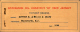 standard oil co nj payment record...